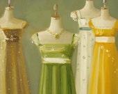 Austen Dresses-Open Edition Print