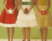 Christmas Belles- Card Set