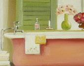 The Florentine Bathtub- Open Edition Print