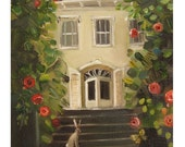 A Visitor- Art Print From Original Oil Painting