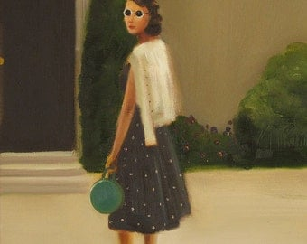 Eldest Daughter Catherine Returns Home To Black Walnut Manor- Limited Edition Print