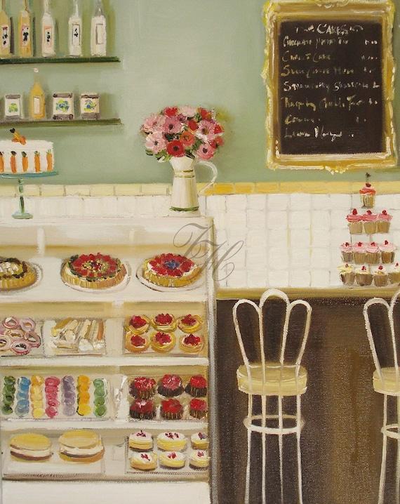 The Italian Bakery- Open Edition Print