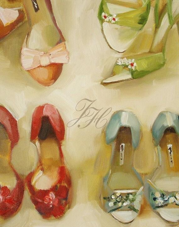 Shoe Shop- Open Edition Print