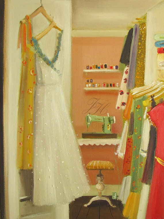 The Sewing Room- Art Print