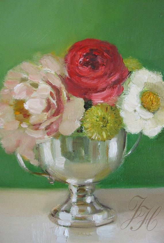 The Silver Sugar Bowl- Canvas Reproduction Print