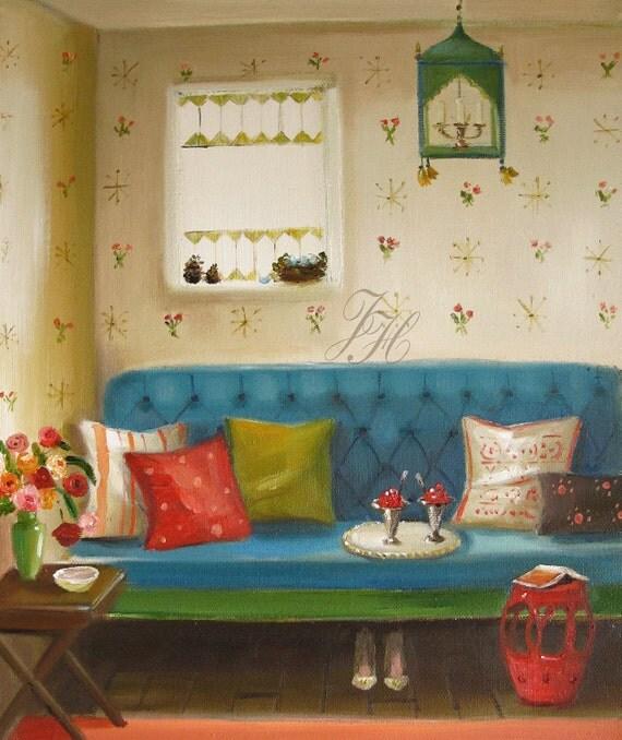 Cherries Jubilee- Original Oil Painting