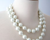 Pearl Necklace double strand in Princess length from the Marina Collection custom listing for Debbie