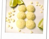 coconut, lime and vanilla chip cookies