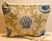 Makeup Cosmetic Bag/Zippered Pouch Shells