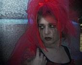 Red Lydia Veil  Bridal Cosplay MTCoffinz