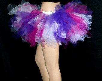 UV Berry Smoothie TuTu Dark Purple, Fuchsia Pink, White Adult ALL Sizes MTCoffinz