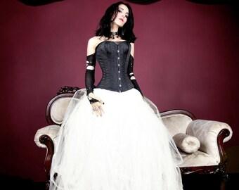 Cream Ivory Pastel Formal Wedding Skirt All Sizes MTCoffinz