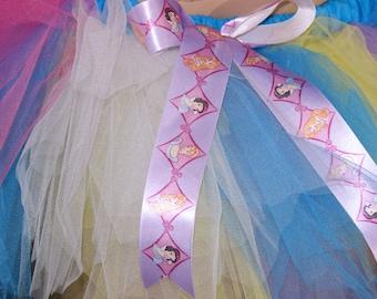 BONANZA Disney Princess Kawaii Raver Trashy TuTu Skirt medium MTCoffinz --- Ready to ship