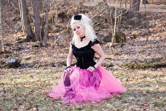 BubbleGum Pink Formal Prom Skirt adult all sizes MTCoffinz