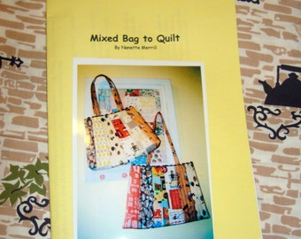 Mixed Bag to Quilt Pattern - download pdf version