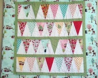 Baby Banner Quilt Pattern PDF
