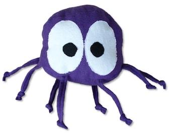 Stuffed Animal Baby Ball Toy - Ringo the Purple Octopus - ZadyCreature