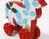 Colorful Rolling Cow