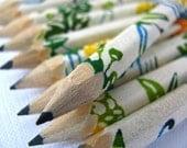 S A L E mini hand-wrapped japanese pencils - set of 10 - renewal