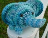 Joshua 100 Percent Cotton Mini Elephant Amigurumi