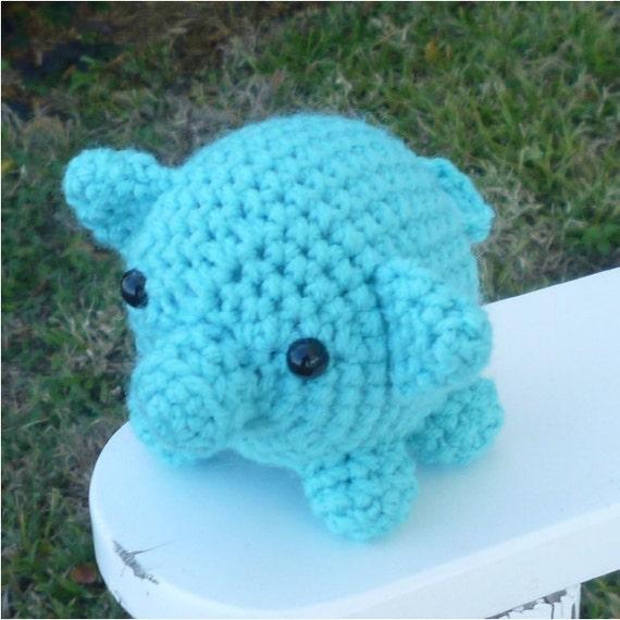 Marvin Mini Pig Amigurumi