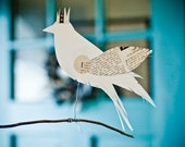 Whitebird Queen Perching Decoration