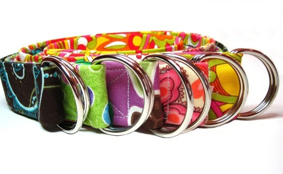Make it a D-ring belt - size 38 to 44