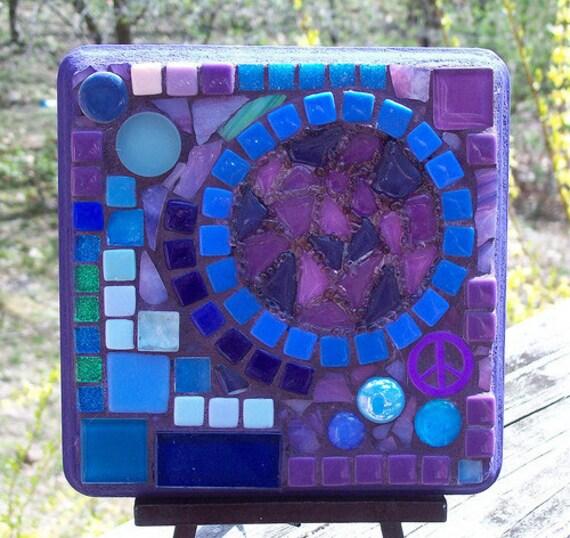 Items similar to Abstract Mosaic Wall Art on Etsy