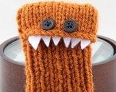 Monster iPhone/iPod cozy - Rust