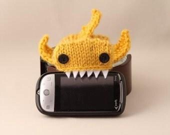 Shark week, Monster Shark Mustard iPhone/iPod cozy, iPhone6S, iPhone 6