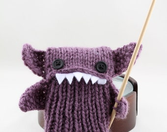 Phone Goblin in Dusty Purple - Smart phone cozy