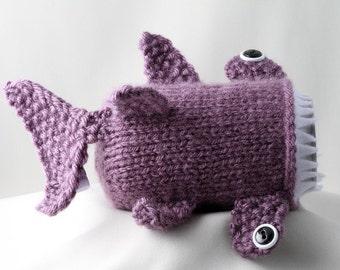 Hammerhead Shark, Shark Week, Drinkware, Gift for Teacher, Gift for Student, Friends, Gift for Boyfriend, Beer Cozy, Sport Drink, Knitted