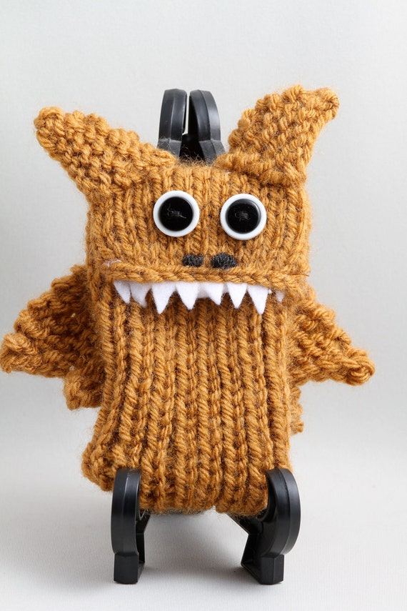 Baby Dragon - Smart Phone cozy - in Deep Gold or Honey