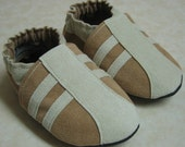 Athletic (2 Colors - Your Choice) - Soft Sole Baby Shoes