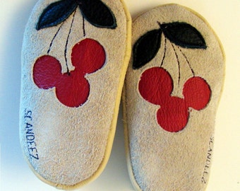 Baby Leather Cherries Moks