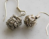 80% OFF Wire Jewelry Tutorial - CUBIC Earrings, Wired Chinese Knot Jewelry Tutorial, DCH007, The Love Knot