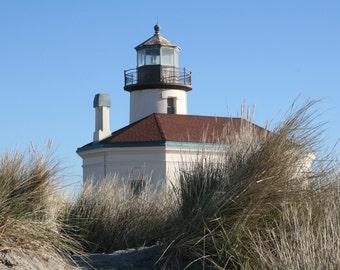 Coastal Light - Coquille River Lighthouse - Bandon, Oregon - 5x7 Fine Art Photograph