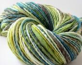 FREE SHIPPING Handspun Yarn, Meirno Wool, Single Ply, 220 Yards/4oz, Meadows,
