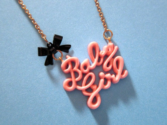 It's A Baby Girl Necklace