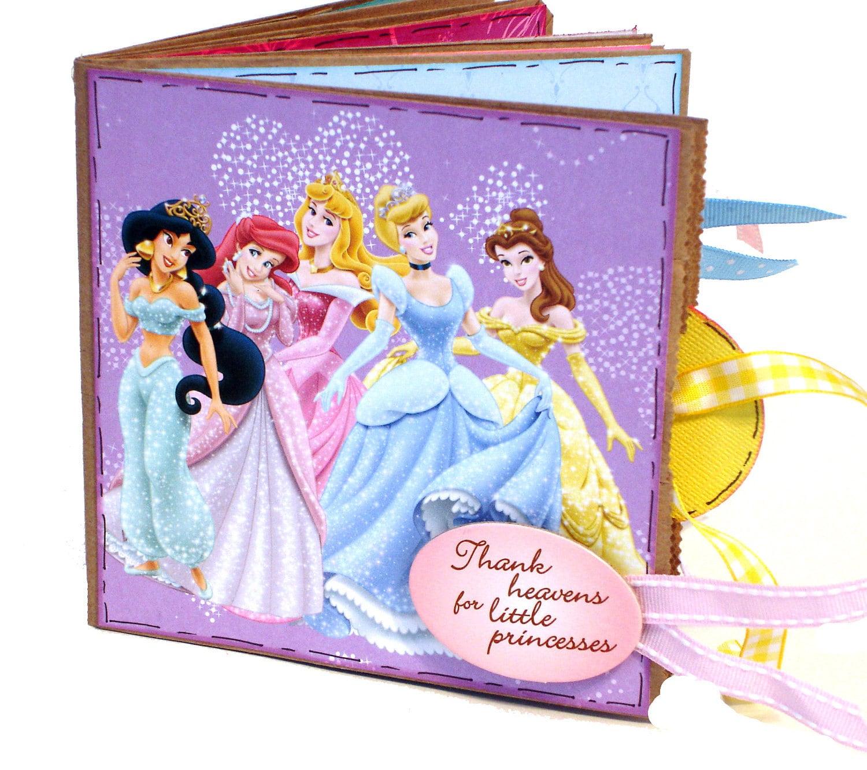 Paper Bag Princess Book Cover ~ Disney princess scrapbook paper bag album