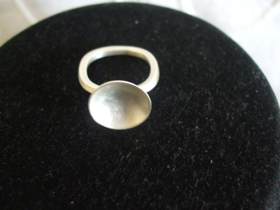 Sterling silver Teacup Ring