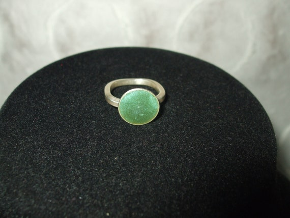 Small Tea Cup Ring with Resin
