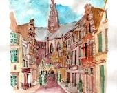 Sint Bavo Haarlem 8x10 print
