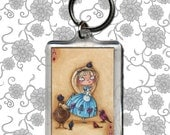 Alice in Wonderland - Ace of Diamonds - Keychain