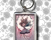 Little miss Raven - Keychain