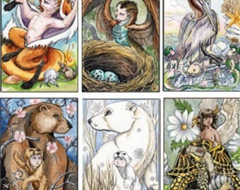 Tarot deck, The Stolen Child, A Limited Edition Major Arcana Deck, Sold Out