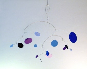 Baby Crib Mobile - The Constellation, small, in Thunder
