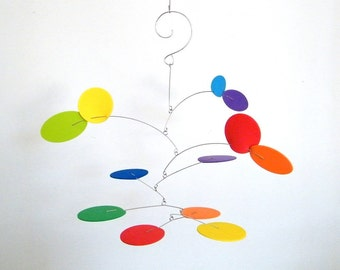 Baby Mobile, Nursery Decor, Kids Room Art  - The Petite Nebula Mobile, in Spectrum