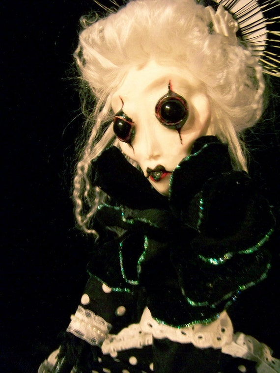 RESERVED FOR DIANE W. - Apathy - Twisted Poppets V2 - Winter's Breath series