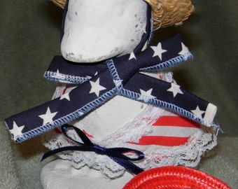 "6"" goose patriotic outfit"